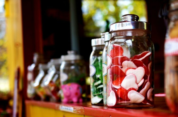 Containers for Candy Stores